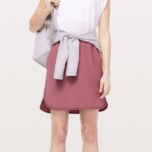 On the Fly Woven Skirt 6